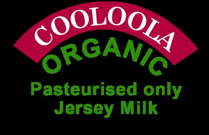 Cooloola Organic Milk Logo