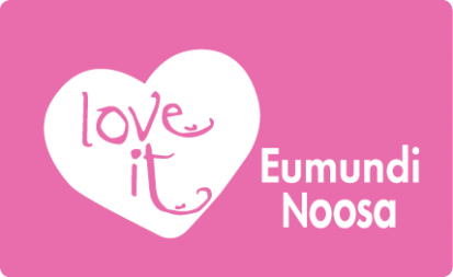 Love It Eumundi Noosa Pink Logo Pasteurised Only