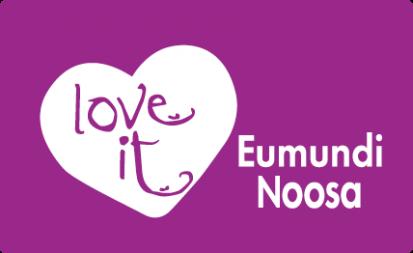 Love It Eumundi Noosa Logo Purple Full Cream