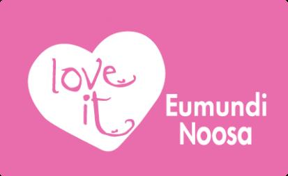 Love It Eumundi Noosa Pink Logo Pasteurised Only
